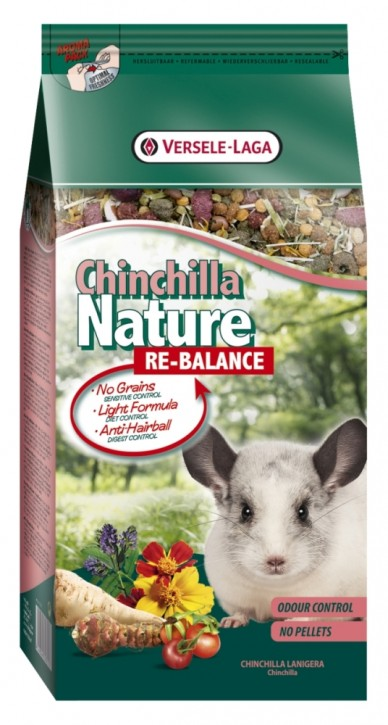 Versele Laga Chinchilla Nature Re-Balance 5 x 750 g