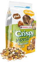 Versele Laga Crispy Muesli Hamsters & Co 2,75 kg oder 20 kg