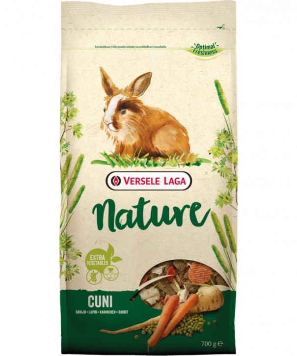 Versele Laga Cuni Nature 700 g, 2,3 kg oder 9 kg