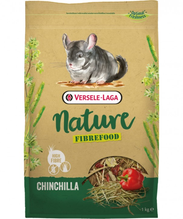 Versele Laga Nature Chinchilla Fibrefood 1 kg oder 2,7 kg