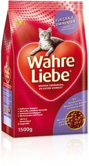 Wahre Liebe Ältere Katzen 400 g, 1,5 kg oder 4 kg (Angebotspreis)