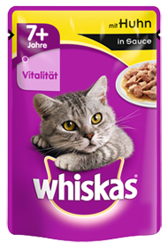 Whiskas 7+ mit Huhn in Sauce 24 x 100 g