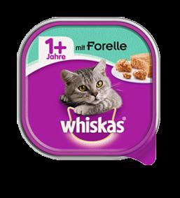 Whiskas Adult 1+ mit Forelle 32 x 100 g