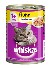 Whiskas Adult mit Huhn in Gelee 12 x 400 g