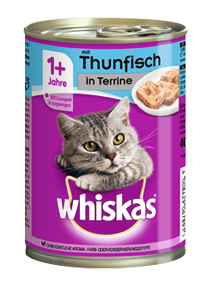 Whiskas Adult mit Thunfisch in Terrine 12 x 400 g