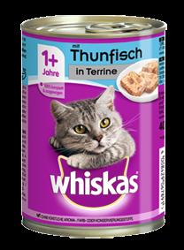 Whiskas Adult mit Thunfisch in Terrine 12 x 400 g