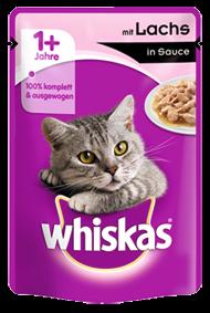 Whiskas mit Lachs in Sauce 24 x 100 g