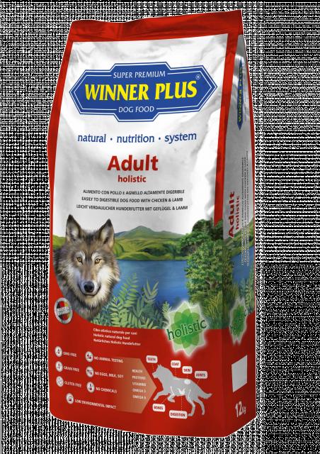 Winner Plus Holistic Adult 2 kg oder 12 kg (SPARTIPP: unsere Staffelpreise)