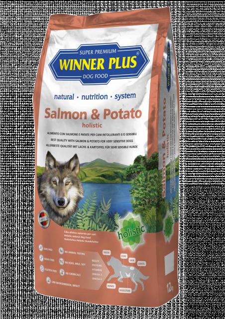 Winner Plus Holistic Lachs und Kartoffel 2 kg oder 12 kg (SPARTIPP: unsere Staffelpreise)