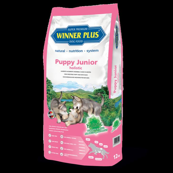 Winner Plus Holistic Puppy & Junior 12 kg (SPARTIPP: unsere Staffelpreise)