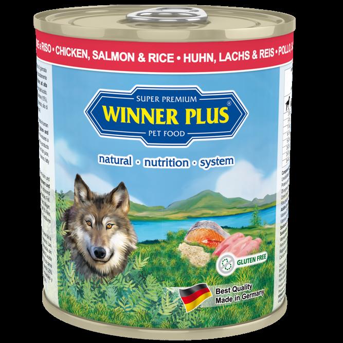Winner Plus Huhn & Lachs mit Reis 6 x 800 g