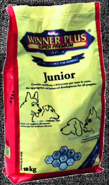 Winner Plus Junior 3 kg oder 18 kg