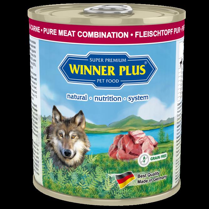 Winner Plus Pur Fleischtopf mit Rind, Lamm und Pute 6 x 800 g