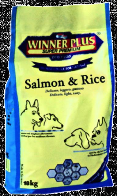 Winner Plus Salmon Fish & Rice 3 kg oder 18 kg