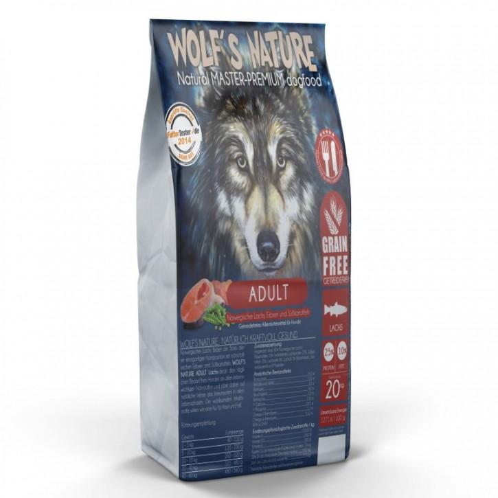 Wolfs Nature Adult Lachs 20 kg