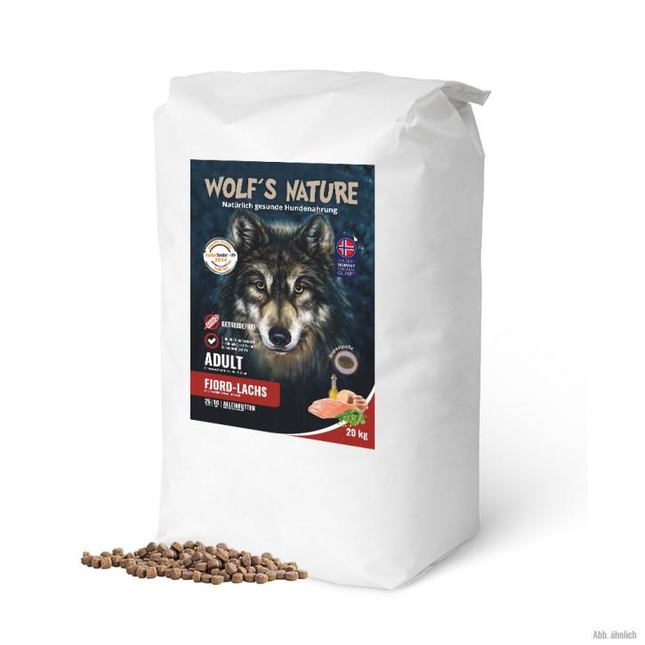Wolfs Nature Adult Lachs kleine Krokette 20 kg