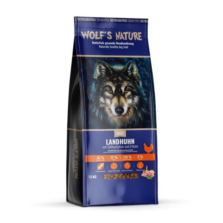 Wolfs Nature Adult Landhuhn 13 kg