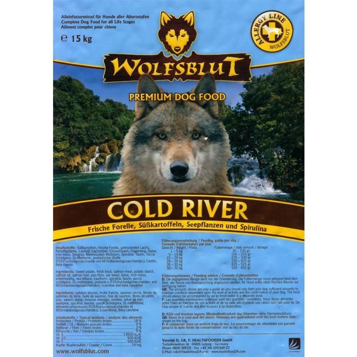 Wolfsblut Cold River 7,5 kg oder 15 kg (SPARTIPP: unsere Staffelpreise)