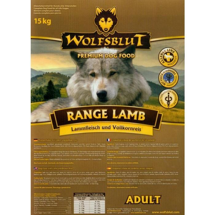 Wolfsblut Range Lamb 15 kg (SPARTIPP: unsere Staffelpreise)