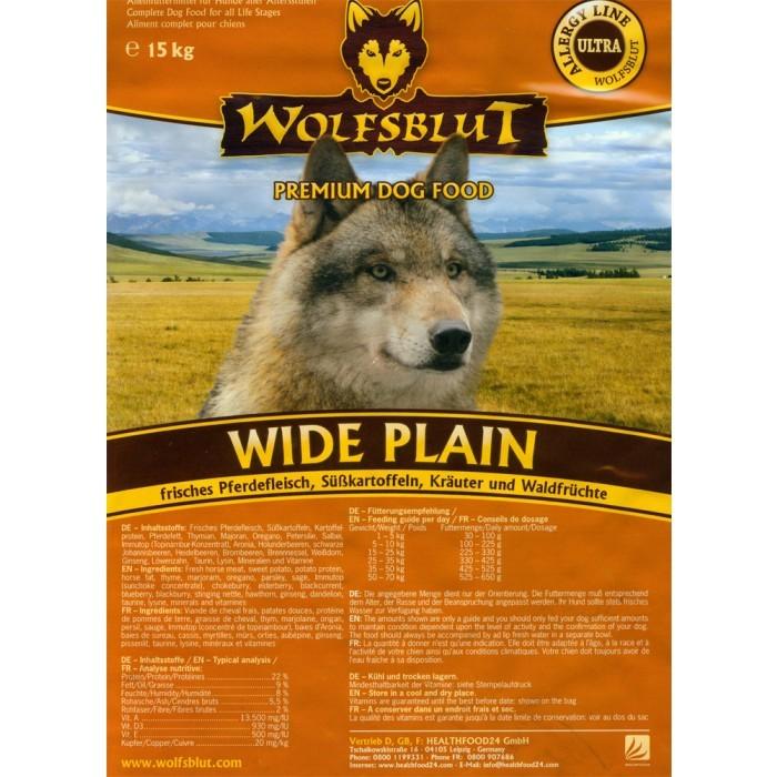 Wolfsblut Wide Plain 15 kg (SPARTIPP: unsere Staffelpreise)