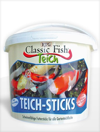 Classic Fish Teichsticks 5.000 ml (Eimer)