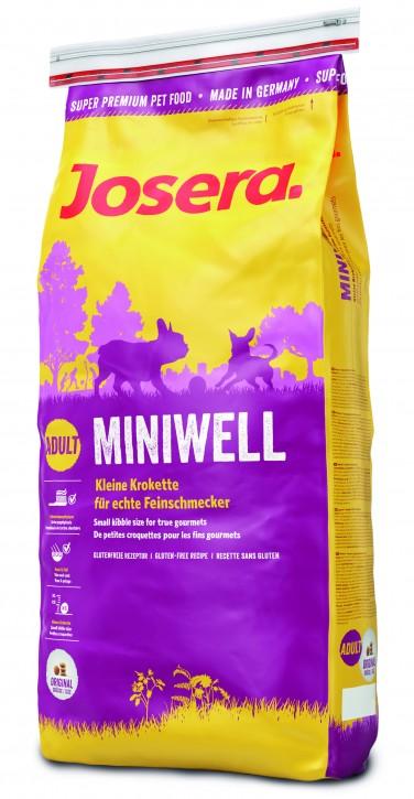 Josera Miniwell 15 kg (SPARTIPP: unsere Staffelpreise)