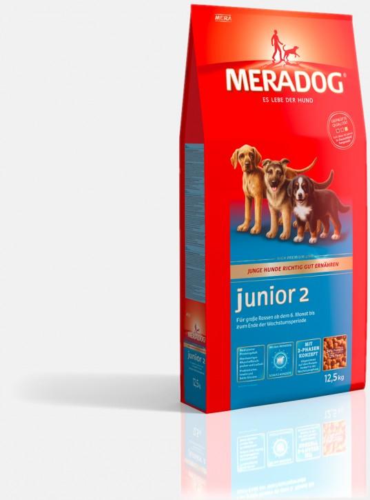 Mera Dog Junior 2 grosse Rassen 4 kg oder 12,5 kg (SPARTIPP: unsere Staffelpreise)