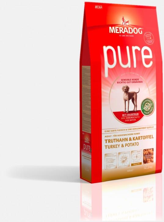 Mera Dog Pure Truthahn & Kartoffeln 4 kg oder 12,5 kg (SPARTIPP: unsere Staffelpreise)