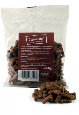 Chewies Training Geflügelknöchelchen 200 g
