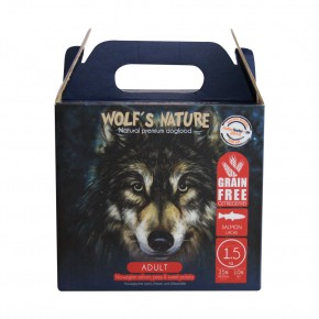 Wolfs Nature Adult Lachs 1,3 kg