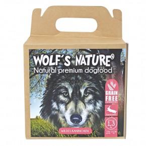 Wolfs Nature Adult Wildes Kaninchen 1,3 kg, 8 kg oder 15 kg (Staffelpreis)