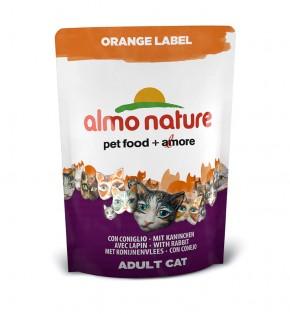 Almo Nature Orange Label Dry mit Kaninchen 105 g oder 750 g