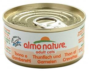 Almo Nature Thunfisch und Garnelen 24 x 70 g