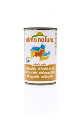 Almo Nature Huhn und Thunfisch 24 x 140 g