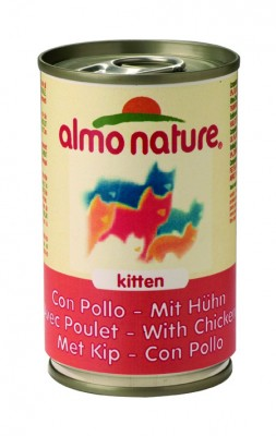 Almo Nature Kitten mit Huhn 24 x 140 g