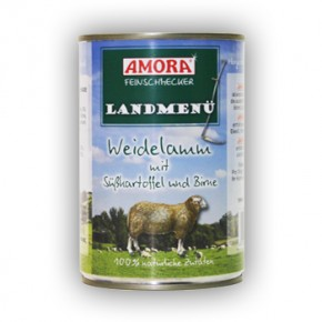 Amora Dog Feinschmecker Landmenü 24 x 400 g
