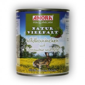 Amora Dog Feinschmecker Naturvielfalt 24 x 800 g