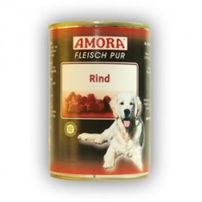 Amora Dog Fleisch Pur mit Rind 400 g