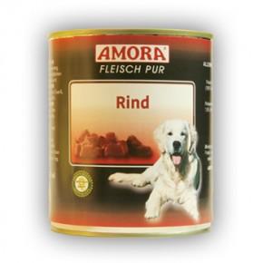 Amora Dog Fleisch Pur mit Rind 800 g