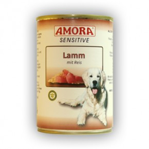 Amora Dog Sensitive mit Lamm mit Reis 400 g