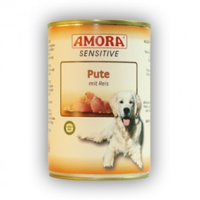 Amora Dog Sensitive mit Pute mit Reis 400 g
