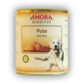Amora Dog Sensitive mit Pute mit Reis 800 g