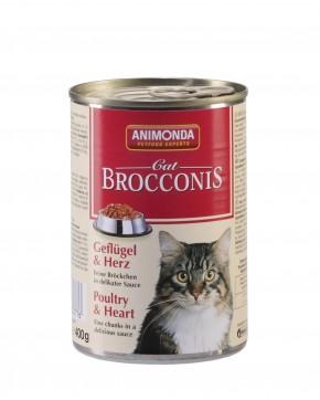 Animonda Cat Brocconis Geflügel und Herz 400 g