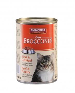 Animonda Cat Brocconis Rind und Geflügel 400 g