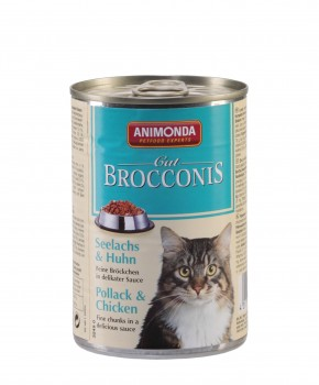 Animonda Cat Brocconis Seelachs und Huhn 400 g