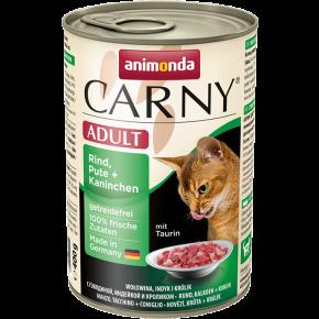 Animonda Cat Carny Adult Rind, Pute & Kaninchen 400 g