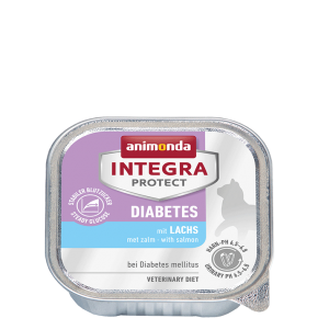 Animonda Cat Integra Protect Diabetes Adult mit Lachs 100 g