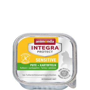 Animonda Cat Integra Protect Sensitive Adult Pute & Kartoffeln 100 g