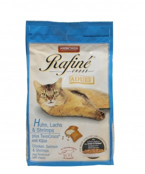 Animonda Cat Rafiné Cross Adult mit Huhn, Lachs und Shrimps 1,5 kg