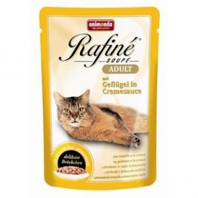 Animonda Cat Rafiné Soupé Adult mit Geflügel und Cremesauce 100 g